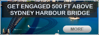 Get Engaged 500 Ft. Above Sydney Harbour Bridge